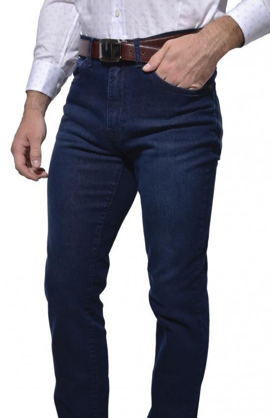 Tmavomodré jeansy