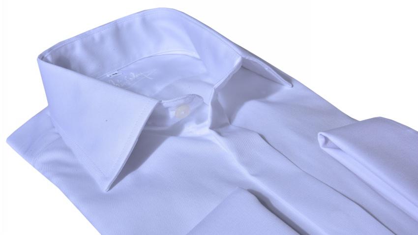 LUXURY LINE Biela Extra Slim Fit košeľa
