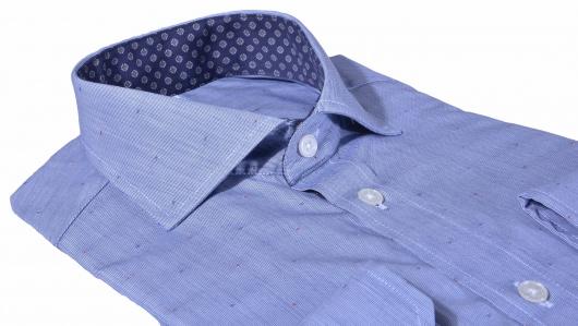 LIMITED EDITION šedá Slim Fit business košeľa