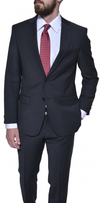 Čierny Slim Fit business oblek
