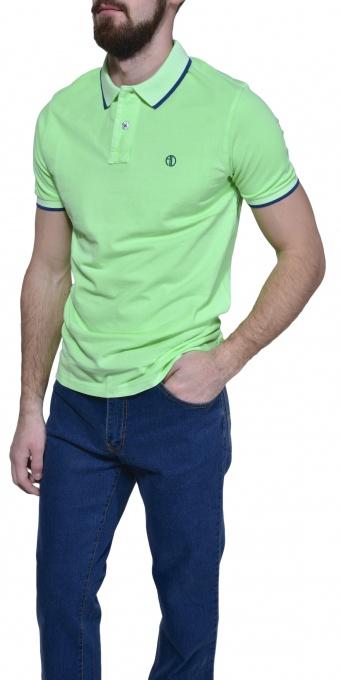 Zelená piqué polokošeľa