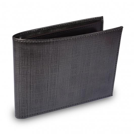 Golden leather wallet