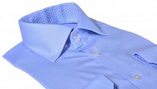 LIMITED EDITION modrá Extra Slim Fit košeľa