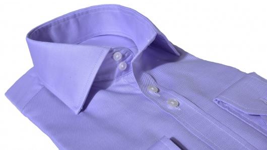 LUXURY LINE Fialová Extra Slim Fit košeľa