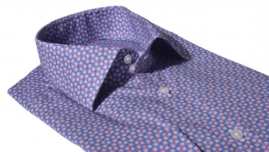 Bold casual Extra Slim Fit printed shirt