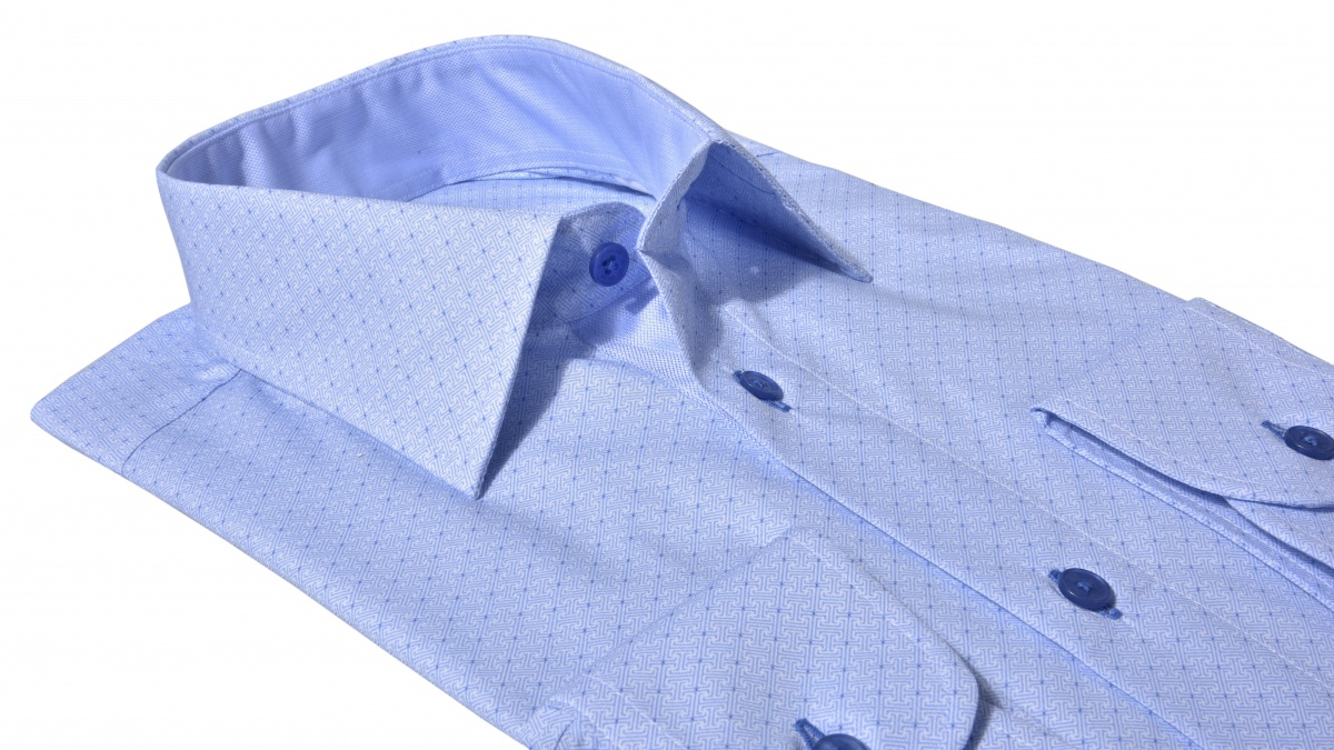 LIMITED EDITION blue Slim Fit business shirt