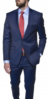 LIMITED EDITION blue wool suit