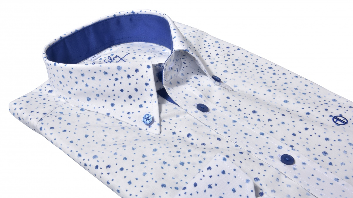 Blue casual Extra Slim Fit shirt