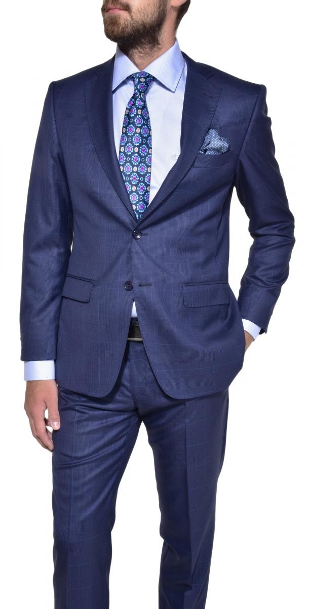 Limited edition blue extra slim fit shirt shirts e for Extra slim tuxedo shirt