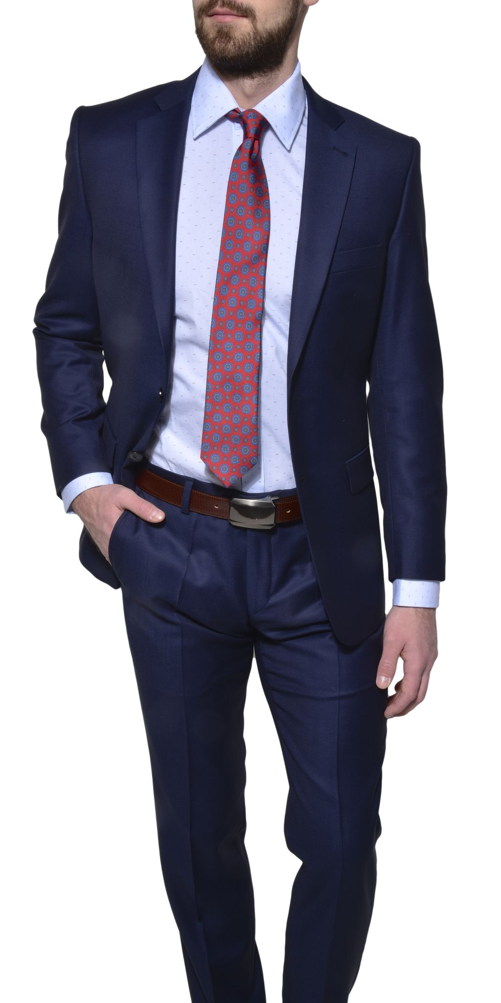 dark blue wool slim fit suit suits eshop alaindelon