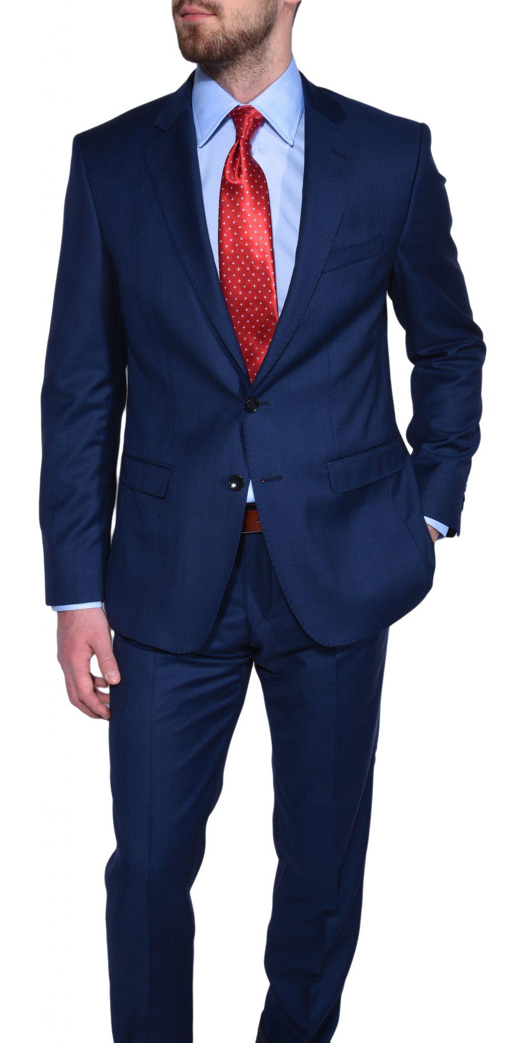 limited edition dark blue suit