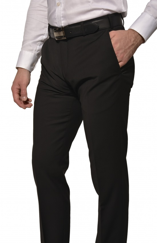 Black Basic suit trousers