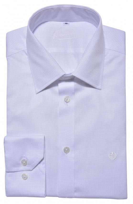 Biela spoločenská Extra Slim Fit košeľa