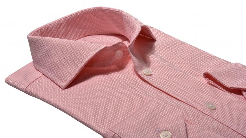 LIMITED EDITION lososová Extra Slim Fit košeľa