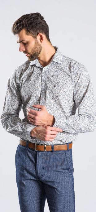 Casual Slim Fit printed shirt