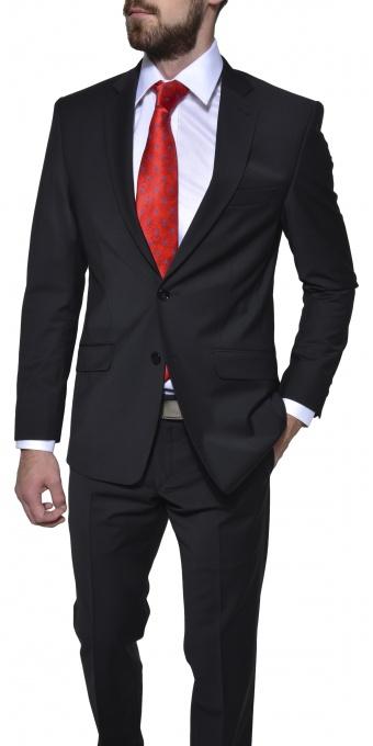 Čierny Slim Fit oblek