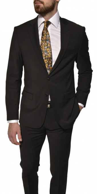 Black Basic suit jacket