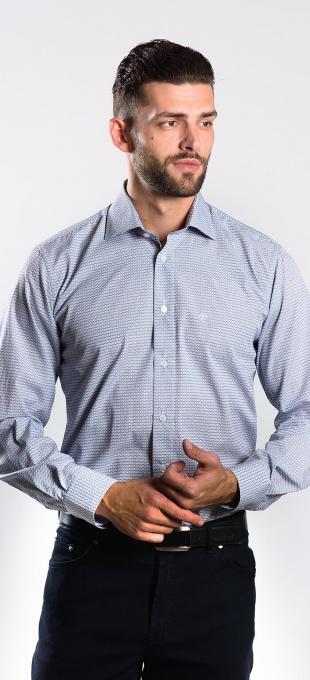 Patterned Slim Fit shirt