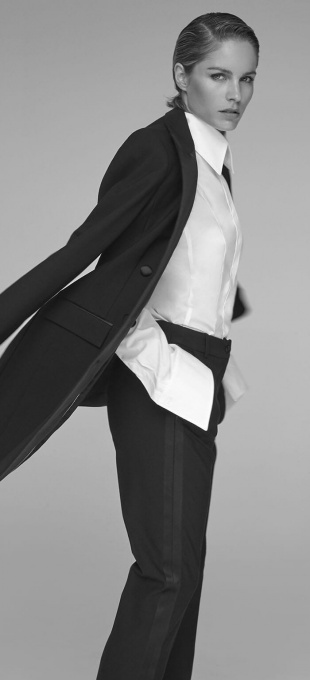 Ladies Tuxedo Trousers