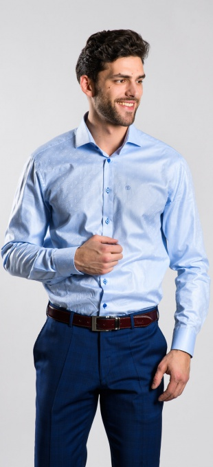 LIMITED EDITION blue Slim Fit shirt