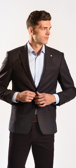 LIMITED EDITION brown wool blazer