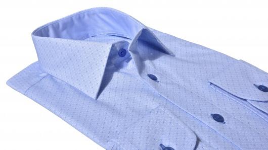 LIMITED EDITION modrá Slim Fit business košeľa