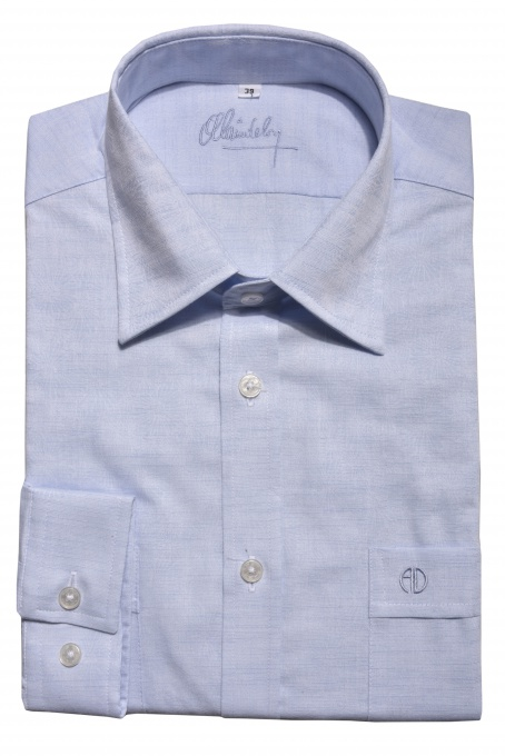 Modrá voľnočasová Extra Slim Fit košeľa