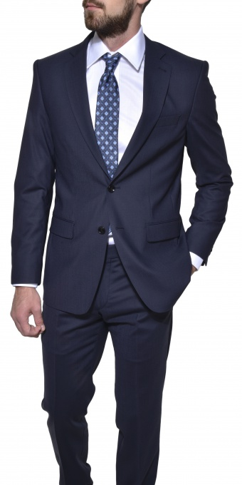 Dark blue Slim Fit suit