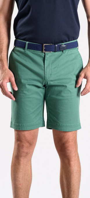 Zelené krátke nohavice