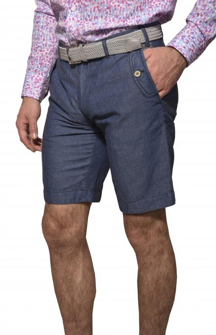 Ľanové krátke nohavice