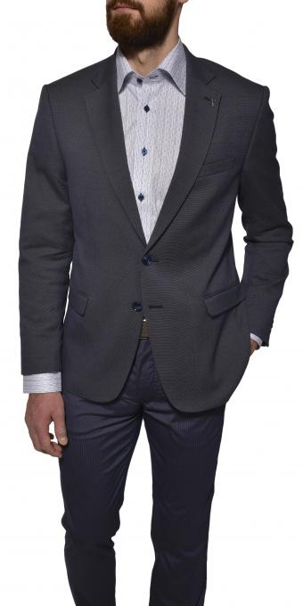 Grey basic blazer