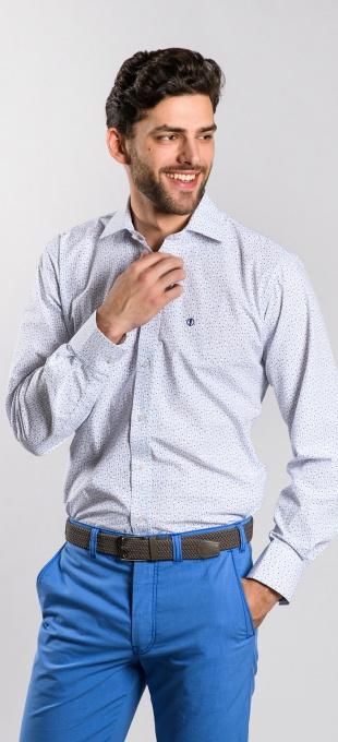 Blue Slim Fit shirt - basic line
