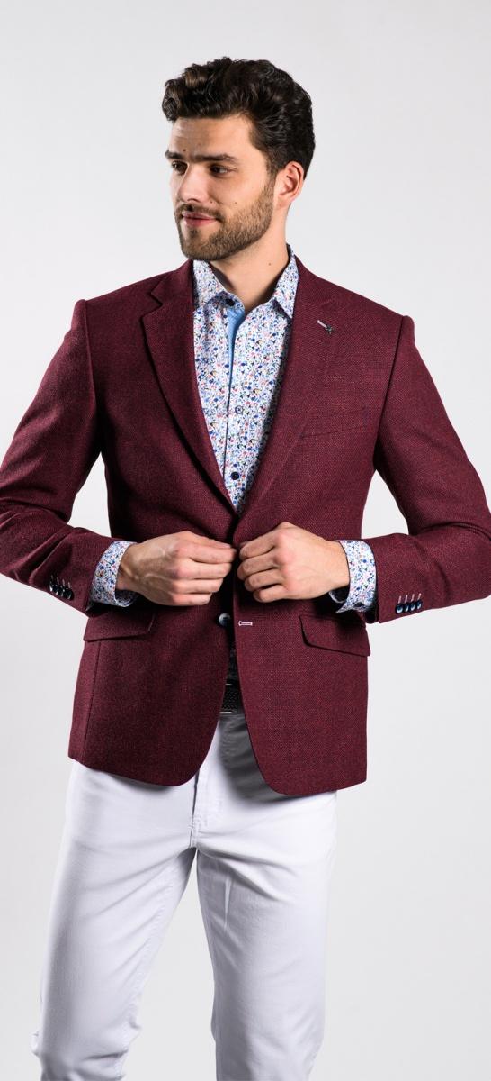 LIMITED EDITION burgundy blazer