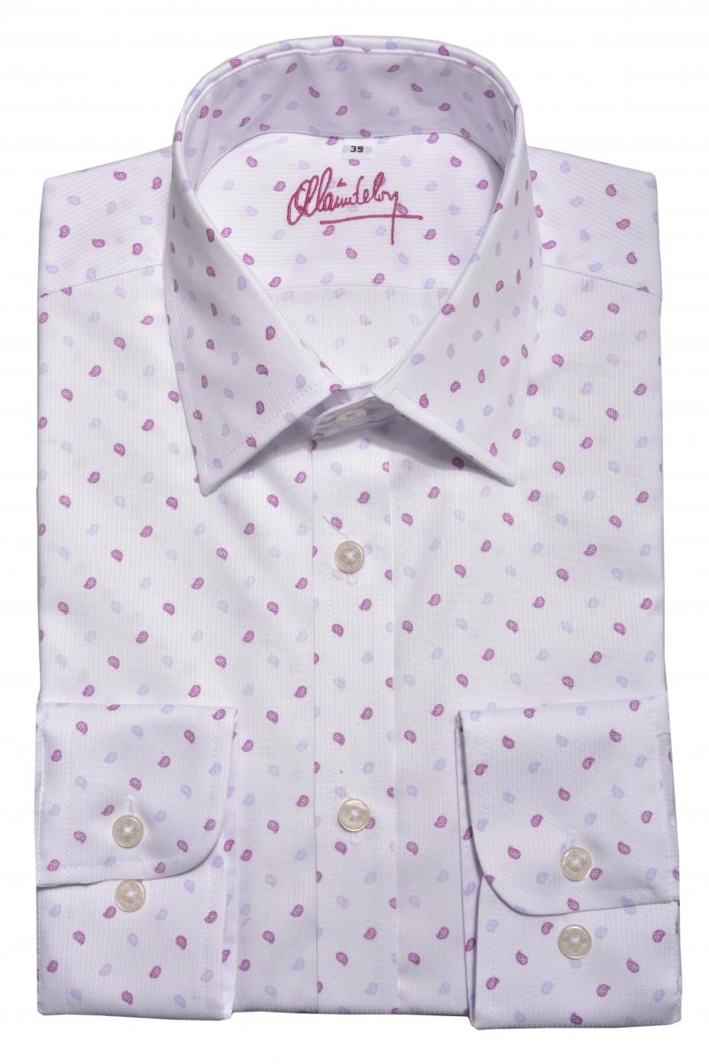 LIMITED EDITION vzorovaná Extra Slim Fit košeľa