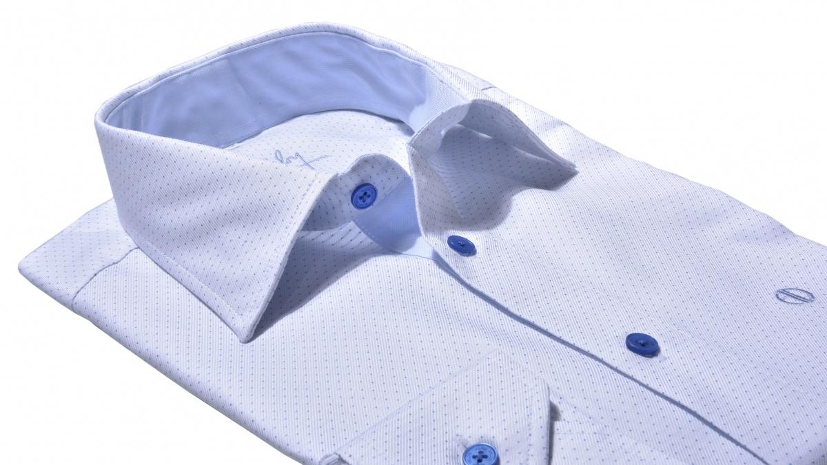 Biela voľnočasová Extra Slim Fit košeľa