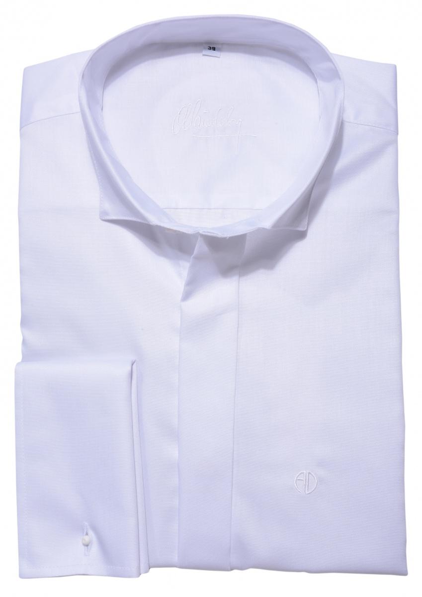 Slim fit smokingová košeľa