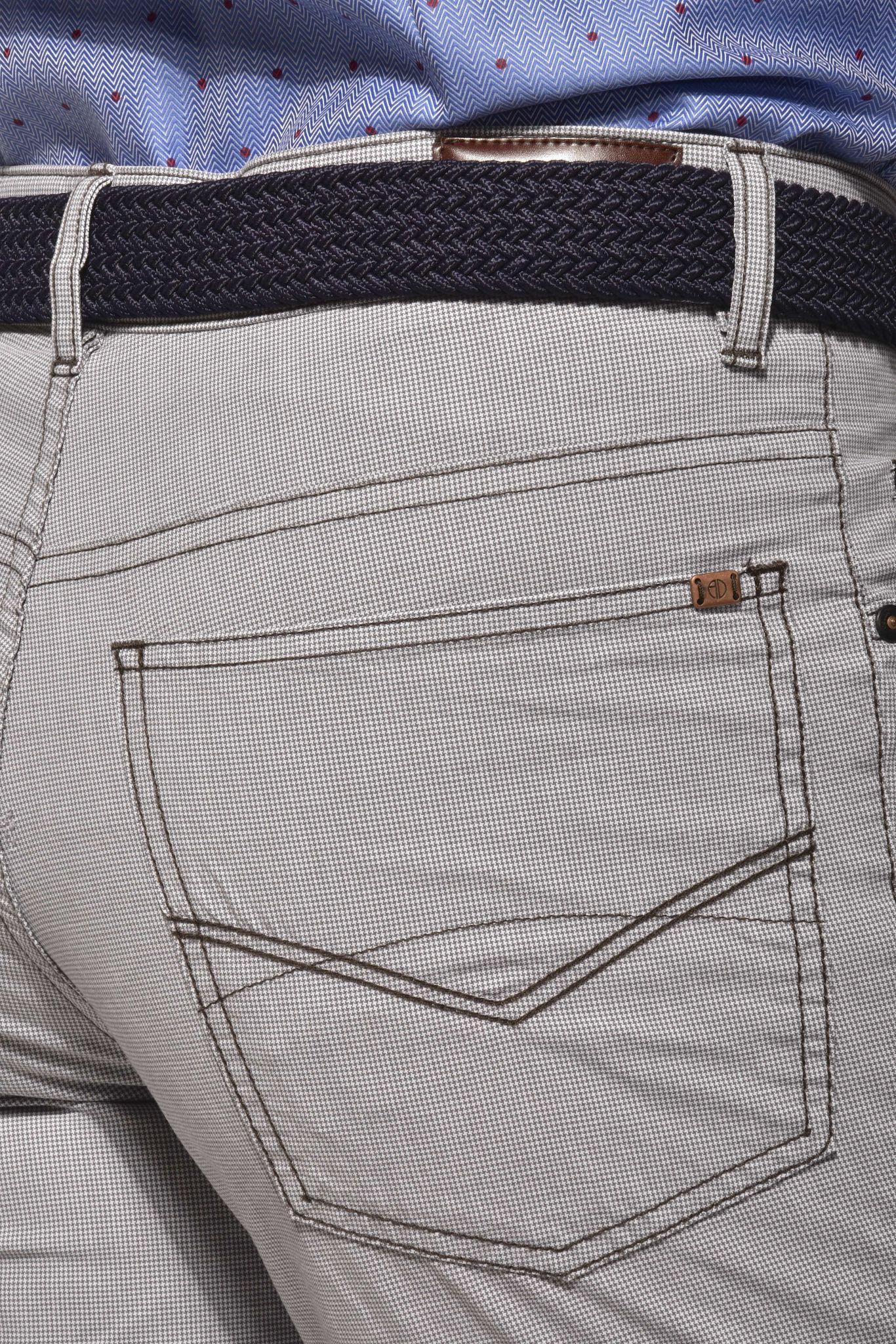 277839f8a1f9 Sivo-hnedé voľnočasové nohavice - Nohavice - E-shop