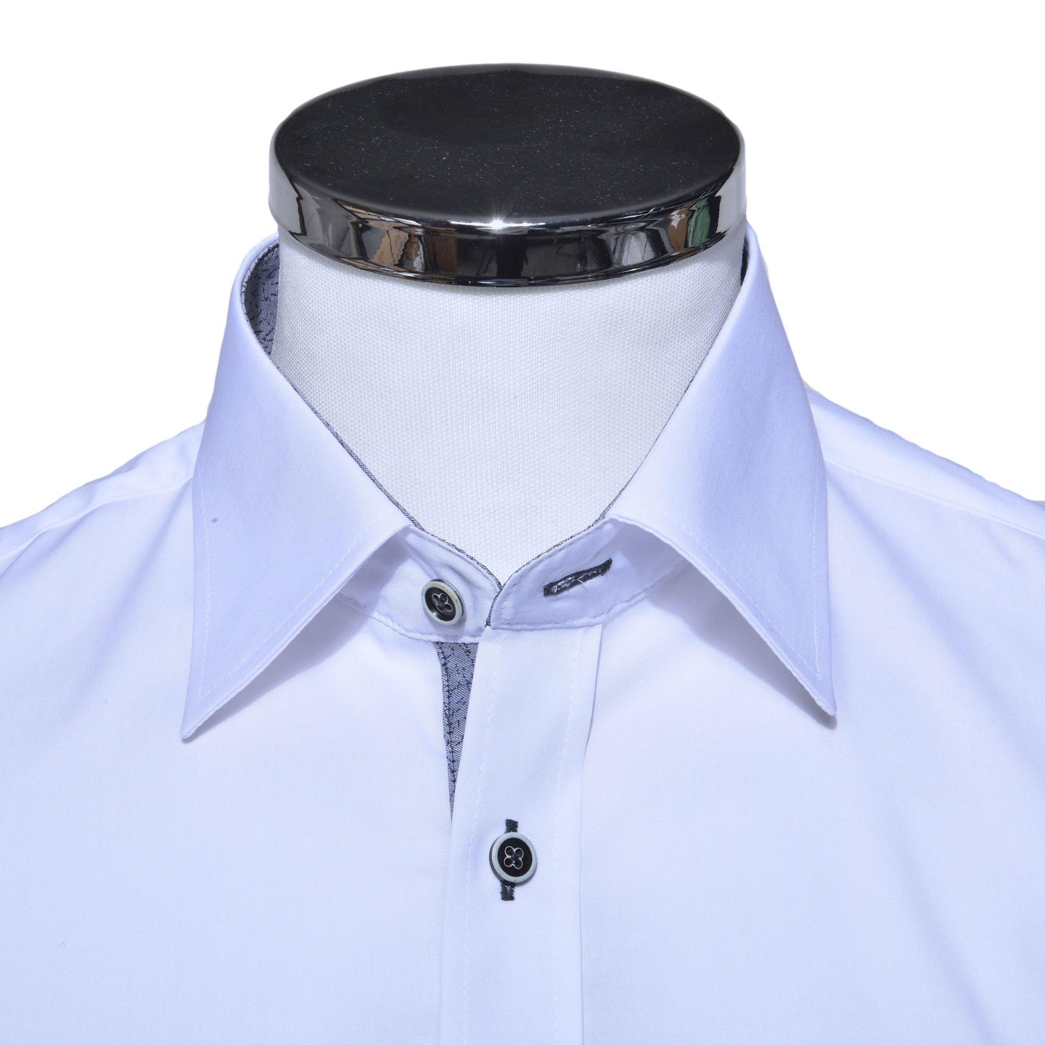 37d71b91331b Biela Extra Slim Fit košeľa - Košele - E-shop