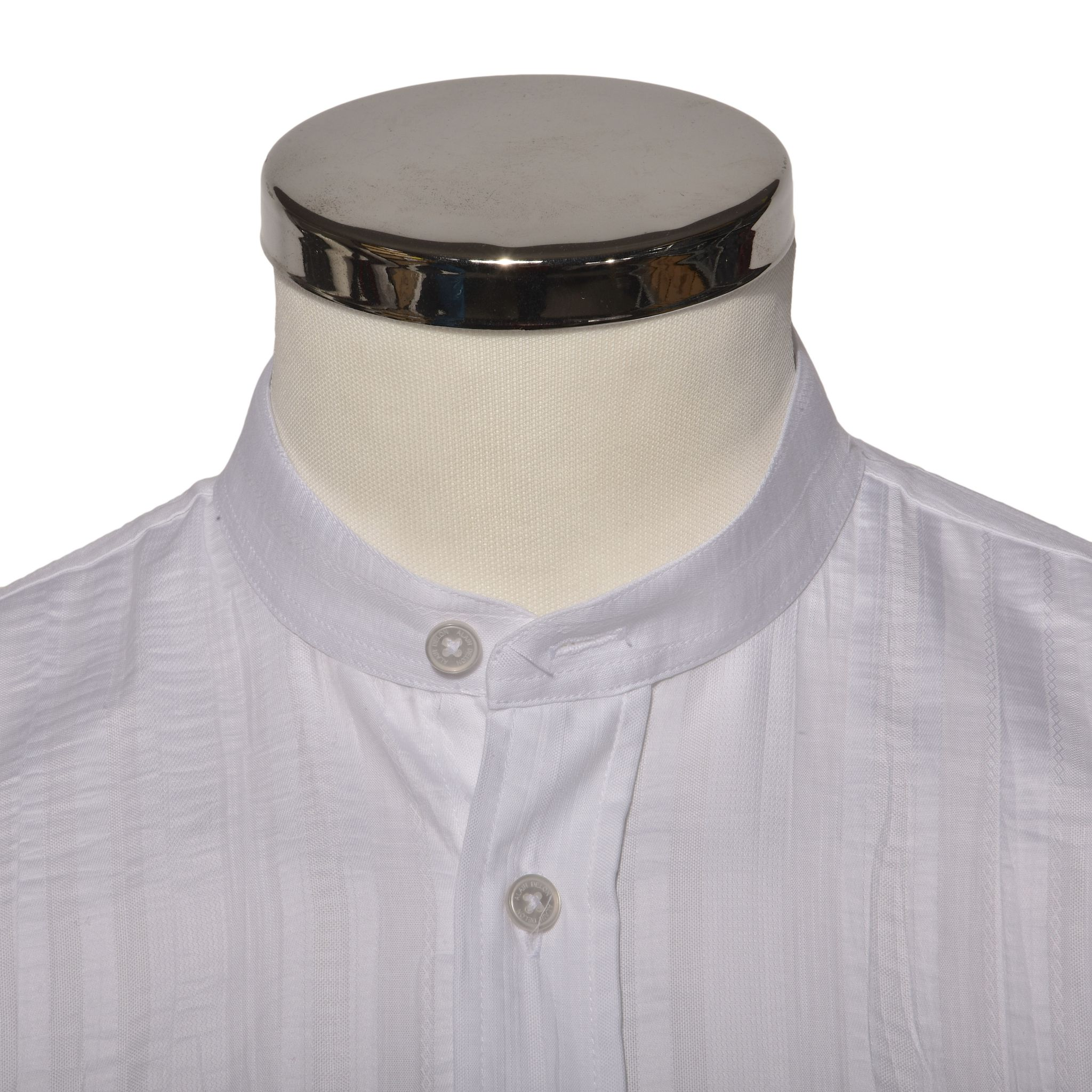 f72d15c22c76 Biela Slim Fit košeľa s krátkym rukávom - Košele krátky rukáv - E ...
